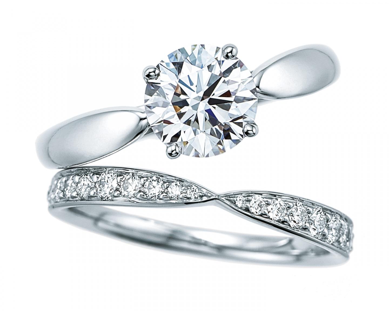 ティファニー ハーモニー エンゲージメント リング(5)―Tiffany & Co.(ティファニー)