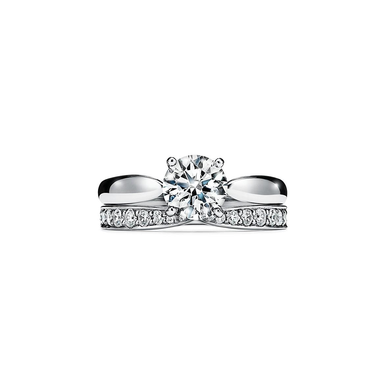 ティファニー ハーモニー エンゲージメント リング(4)―Tiffany & Co.(ティファニー)