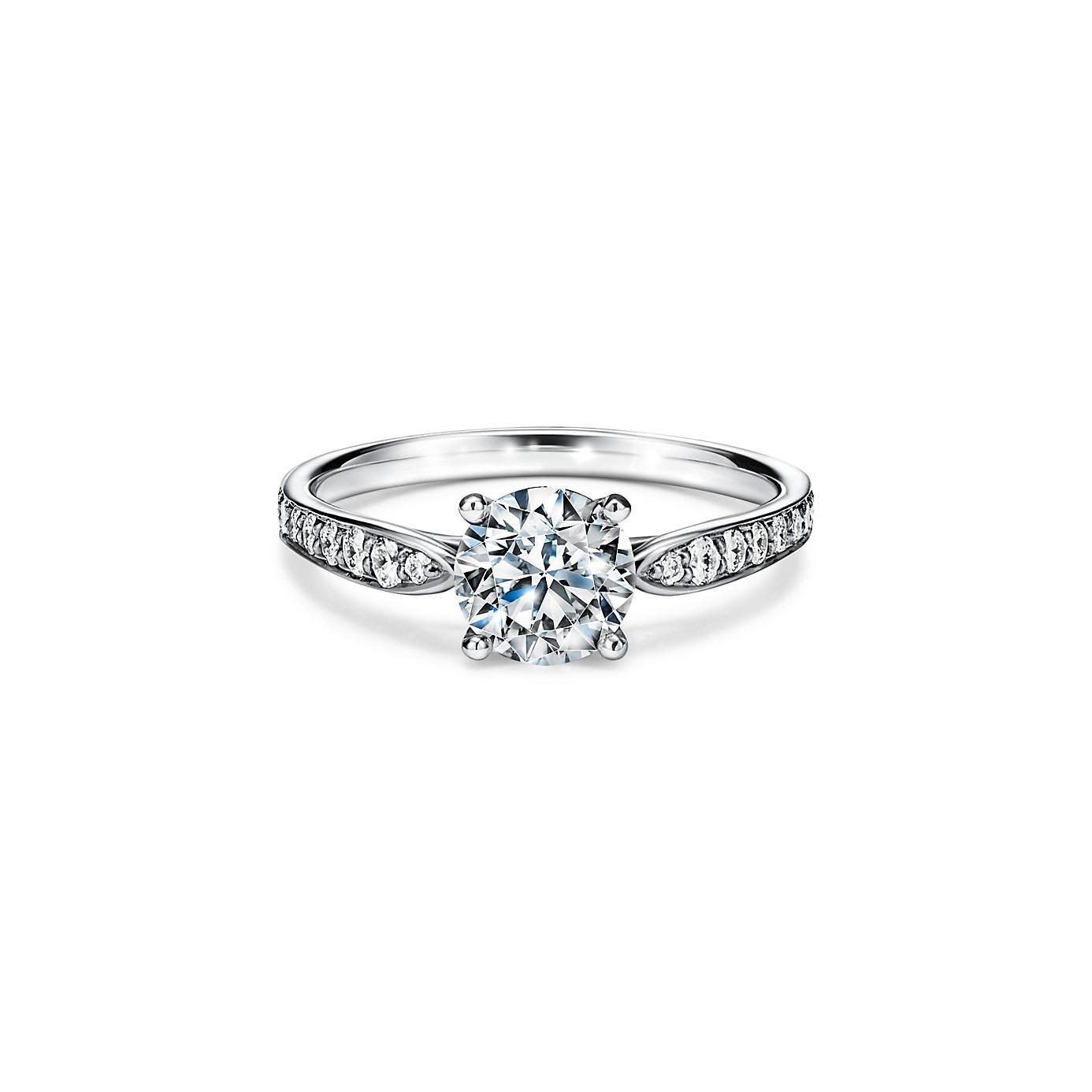 ティファニー ハーモニー エンゲージメント リング ダイヤモンド バンド(1)―Tiffany & Co.(ティファニー)