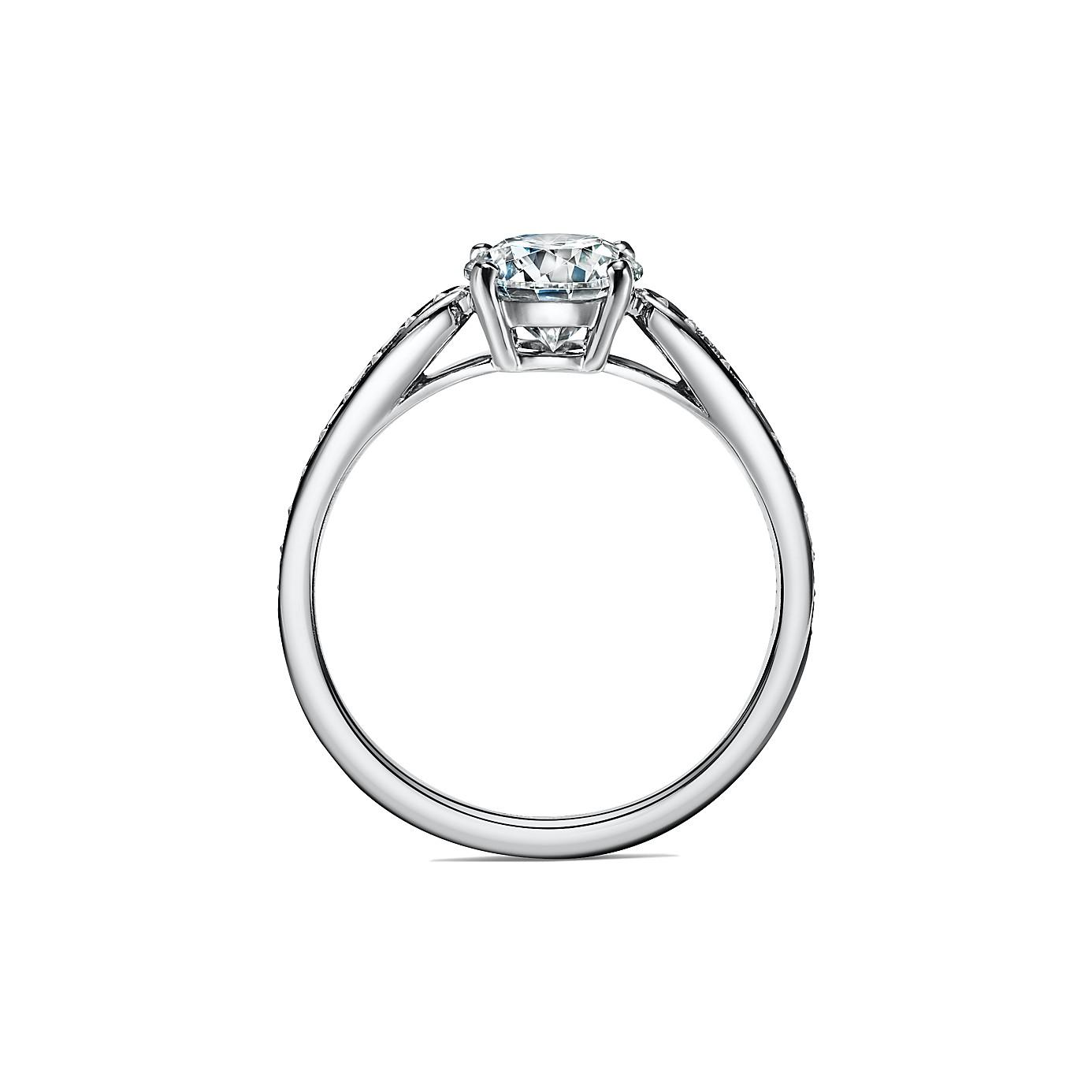 ティファニー ハーモニー エンゲージメント リング ダイヤモンド バンド(2)―Tiffany & Co.(ティファニー)