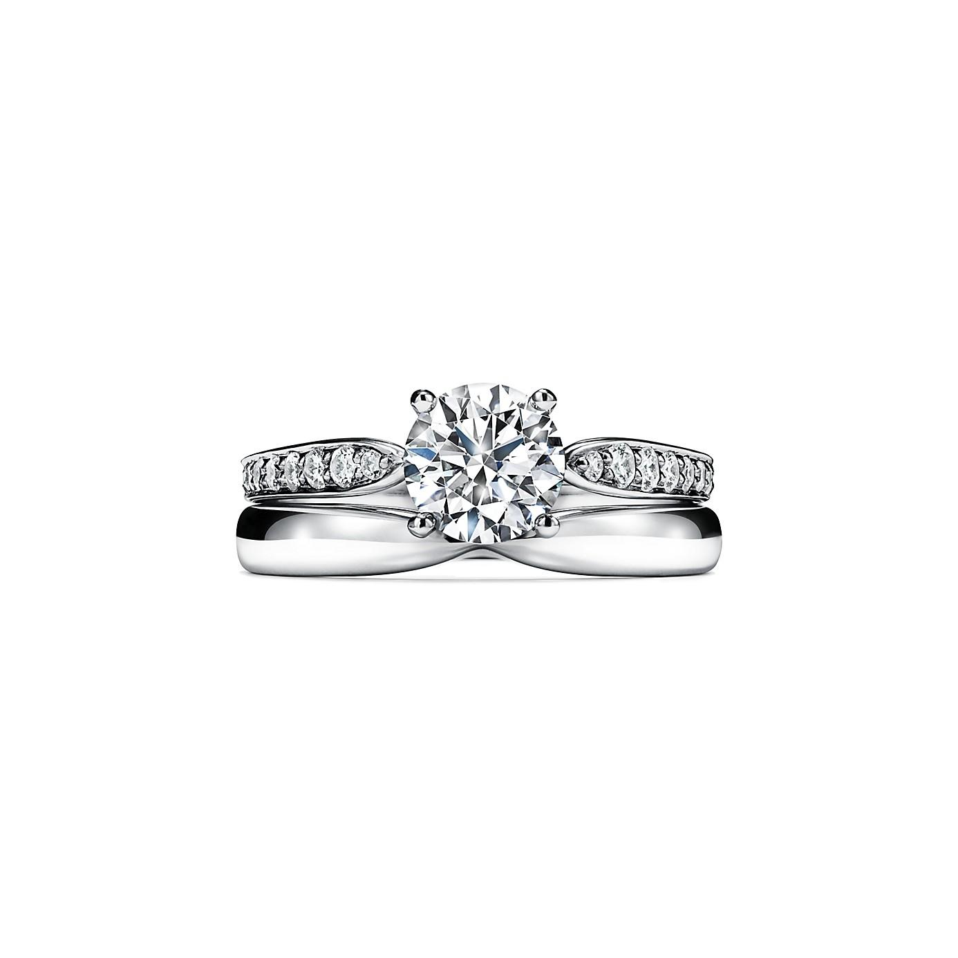 ティファニー ハーモニー エンゲージメント リング ダイヤモンド バンド(3)―Tiffany & Co.(ティファニー)