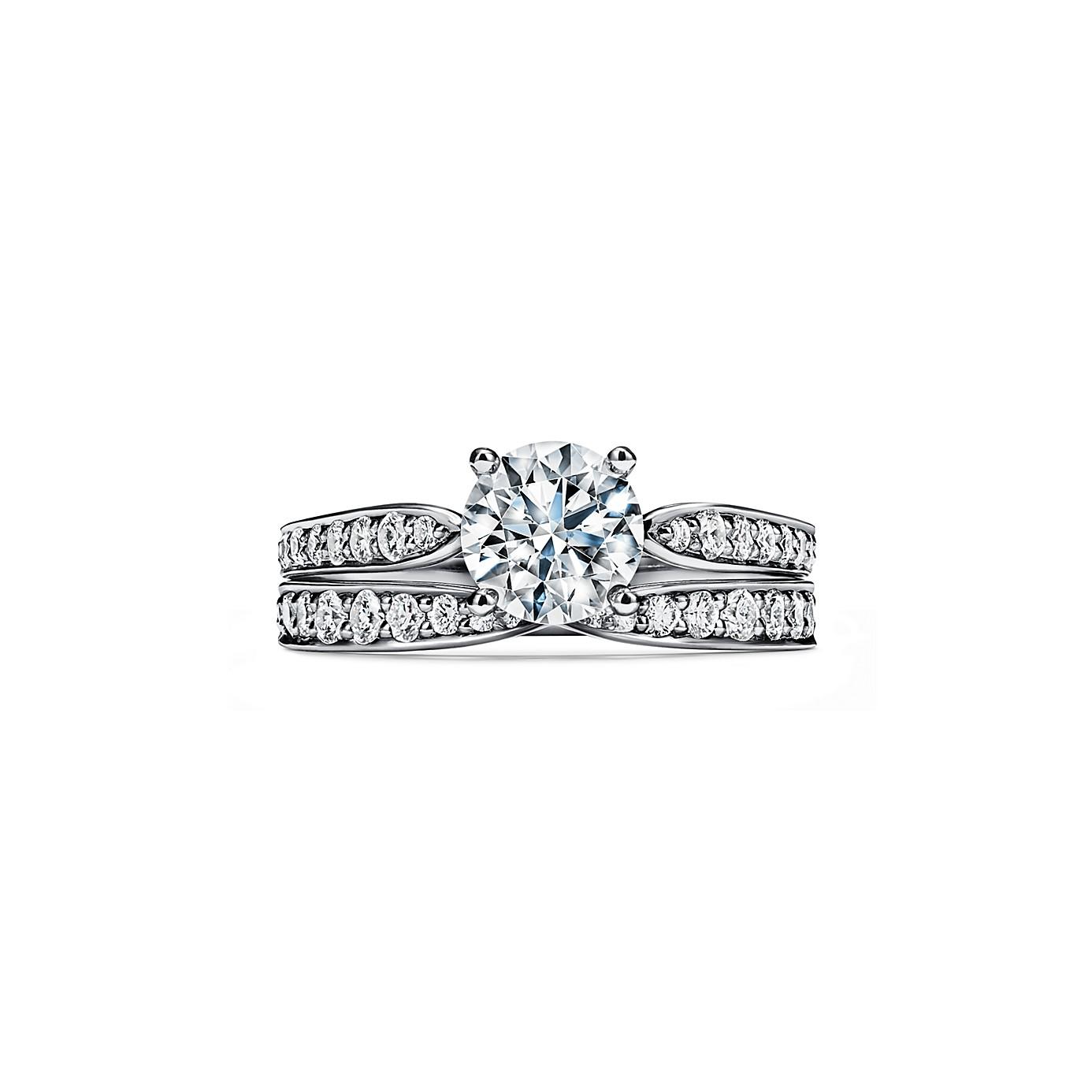 ティファニー ハーモニー エンゲージメント リング ダイヤモンド バンド(4)―Tiffany & Co.(ティファニー)