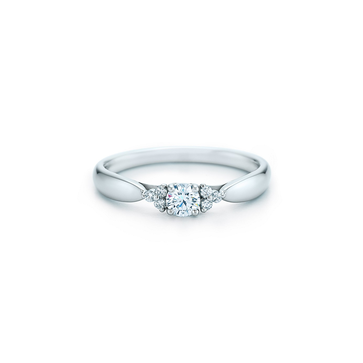 ティファニー ハーモニー ダイヤモンド リング サイドストーン(1)―Tiffany & Co.(ティファニー)