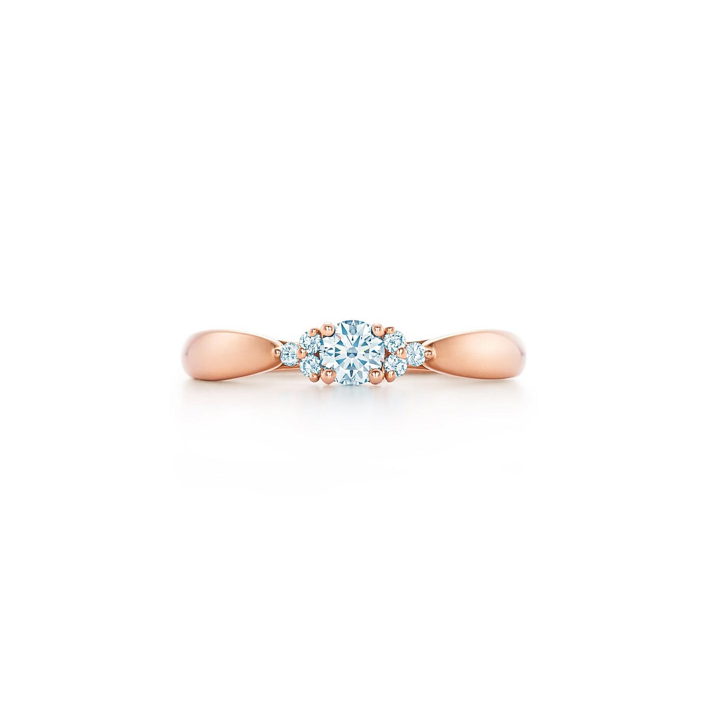 ティファニー ハーモニー クラスター エンゲージメント リング(1)―Tiffany & Co.(ティファニー)