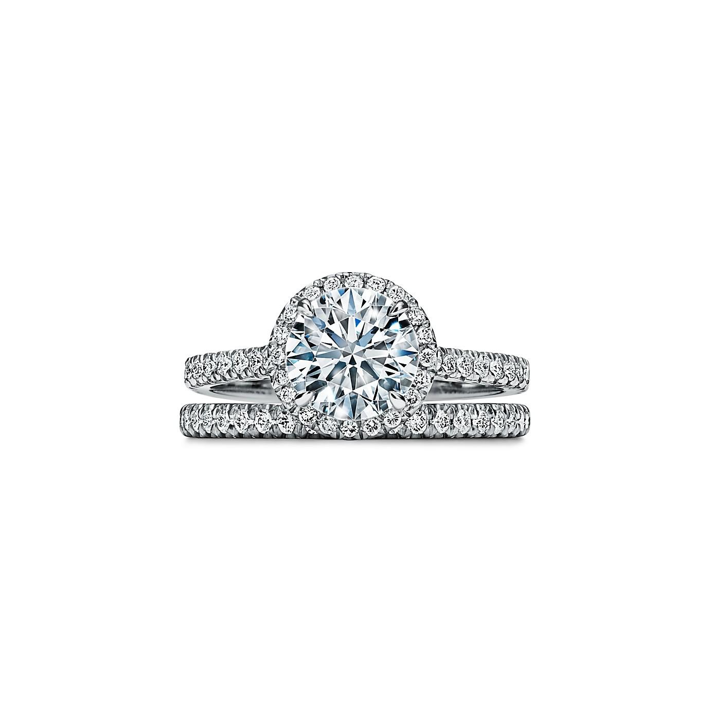ティファニー ソレスト ラウンド ブリリアント エンゲージメント リング(3)―Tiffany & Co.(ティファニー)