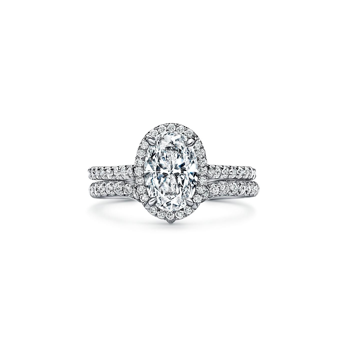 ティファニー ソレスト オーバル カット ダイヤモンド エンゲージメント リング(4)―Tiffany & Co.(ティファニー)