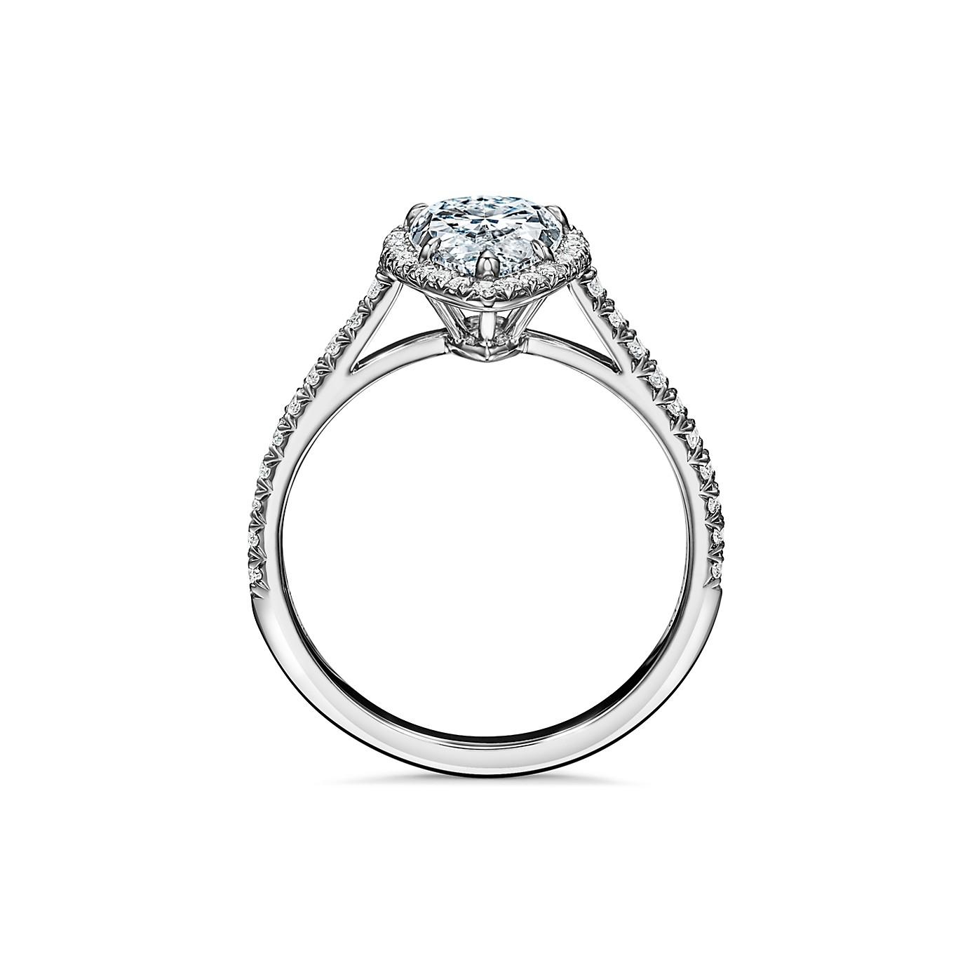 ティファニー ソレスト ペアシェイプ ダイヤモンド エンゲージメント リング(2)―Tiffany & Co.(ティファニー)