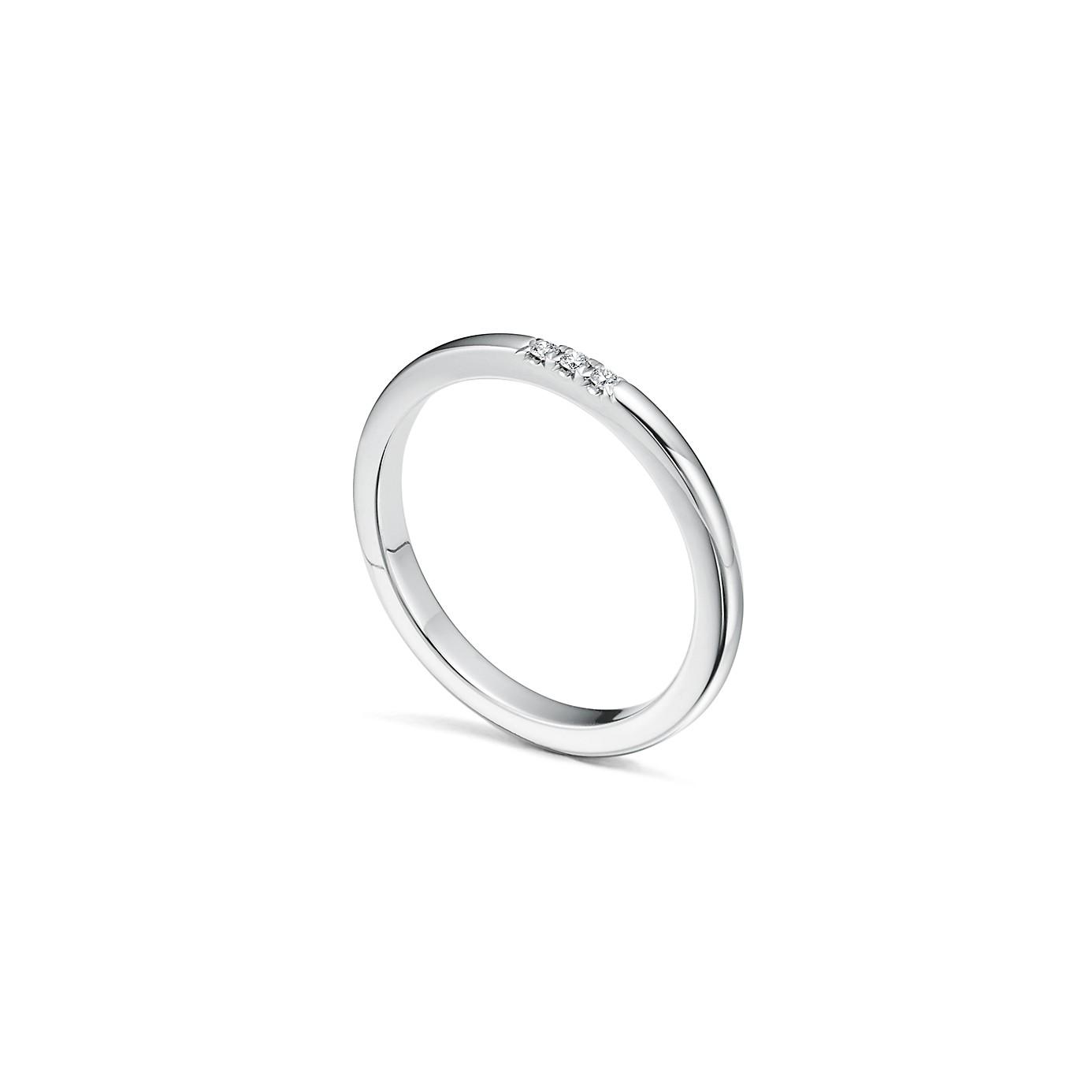 ティファニー クラシック ウェディング バンドリング ダイヤモンド(2)―Tiffany & Co.(ティファニー)