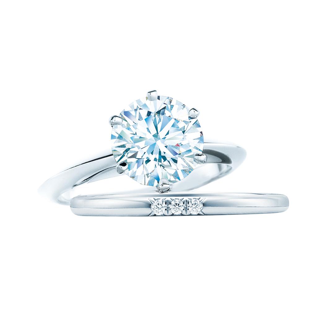 ティファニー クラシック ウェディング バンドリング ダイヤモンド(3)―Tiffany & Co.(ティファニー)