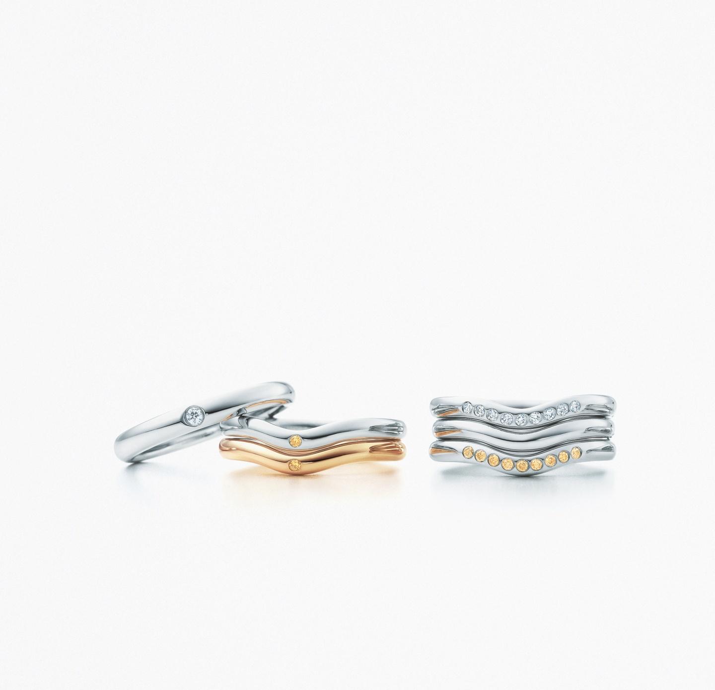 エルサ・ペレッティ カーブド バンドリング(2)―Tiffany & Co.(ティファニー)