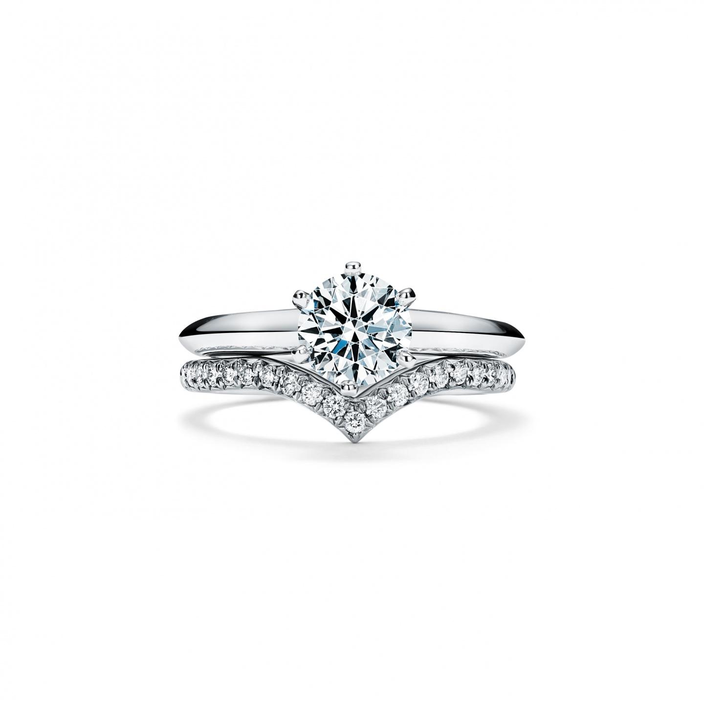ティファニー ソレスト V リング ダイヤモンド(3)―Tiffany & Co.(ティファニー)