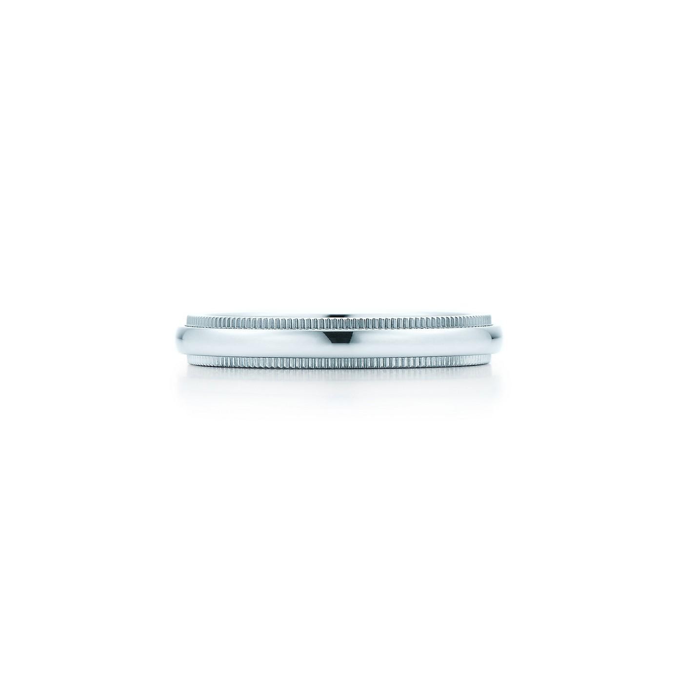 ティファニー クラシック ミルグレイン バンドリング(1)―Tiffany & Co.(ティファニー)