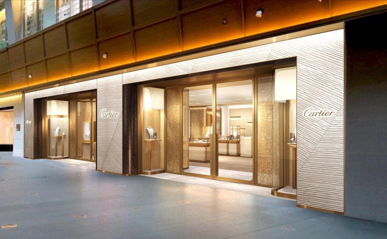 カルティエ ブティック 六本木ヒルズ店が、 2017年10月28日(土)より期間限定ギャラリー「TANK 100」としてオープン(1)―Cartier(カルティエ)