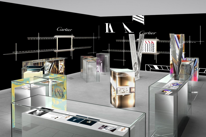 カルティエ ブティック 六本木ヒルズ店が、 2017年10月28日(土)より期間限定ギャラリー「TANK 100」としてオープン(2)―Cartier(カルティエ)