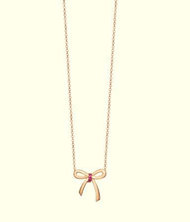 ティファニー、ホリデーシーズンに 日本限定商品「ティファニー ボウ ペンダント」を発売(1)―Tiffany & Co.(ティファニー)