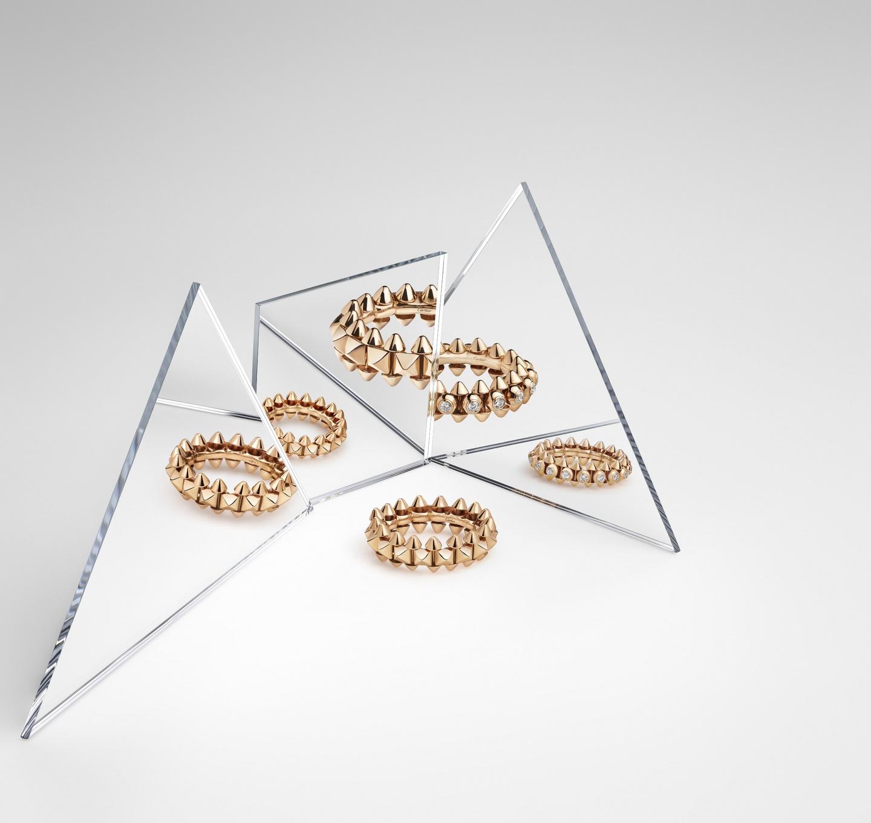カルティエ 新作ジュエリーコレクション「CLASH DE CARTIER」の誕⽣を祝し、5 ⽉18 ⽇(⼟)より 期間限定ポップアップイベントを開催(2)―Cartier(カルティエ)