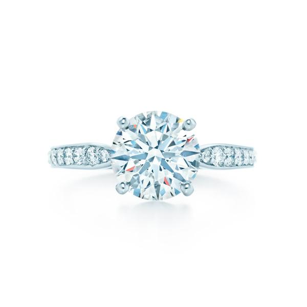 ティファニー ハーモニー ダイヤモンド バンド エンゲージメント リング(1)―Tiffany & Co.(ティファニー)
