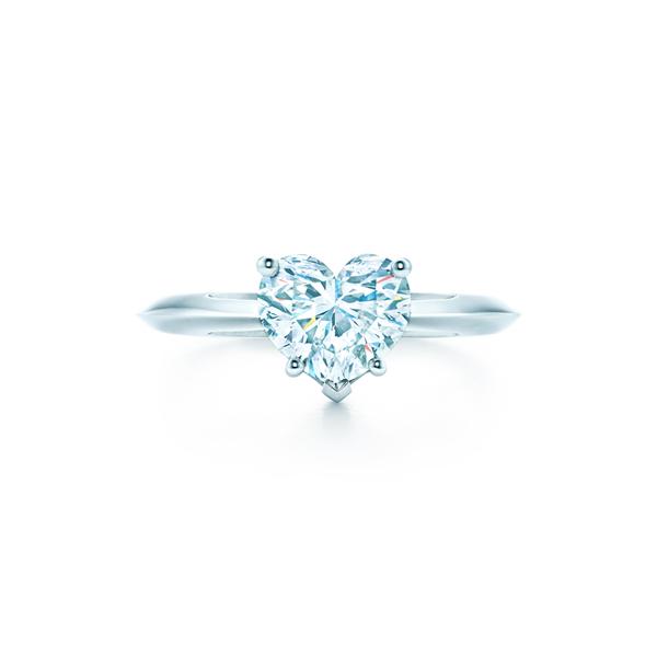 ハートシェイプ ダイヤモンド ティファニー バンド エンゲージメント リング(1)―Tiffany & Co.(ティファニー)