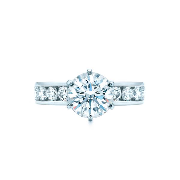 ティファニー セッティング ダイヤモンド バンド リング(1)―Tiffany & Co.(ティファニー)