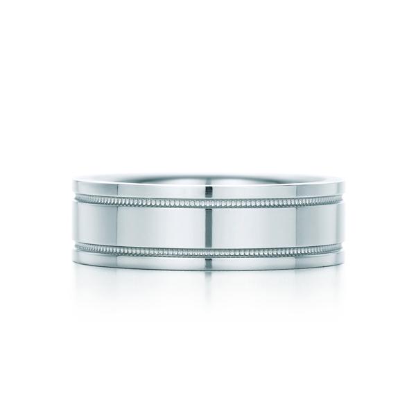 ダブル ミルグレイン バンドリング(1)―Tiffany & Co.(ティファニー)