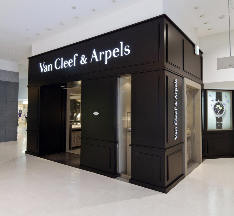 西武渋谷店―Van Cleef & Arpels(ヴァン クリーフ&アーペル)