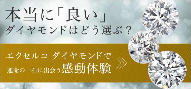 エクセルコダイヤモンドで「運命の一石」に出会う感動体験
