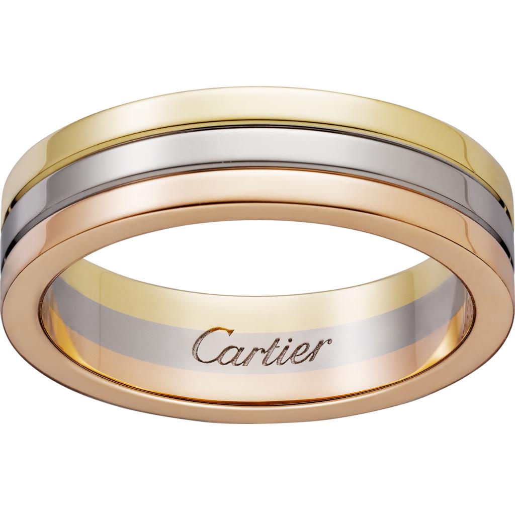 トリニティ ウェディングリング(1)―Cartier(カルティエ)